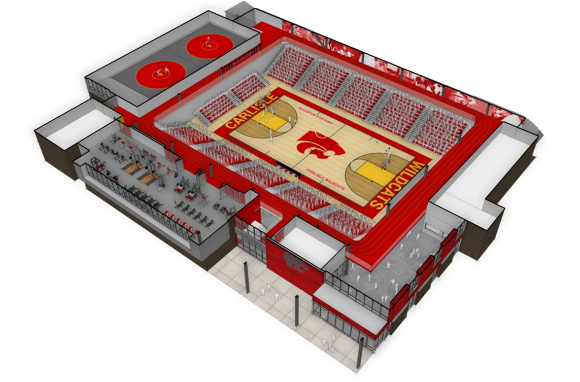 Rendering of Indoor Activities Center