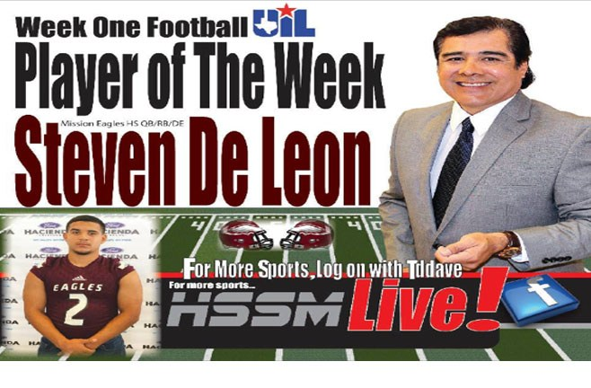 Steven De Leon wins HSSP Player of the week