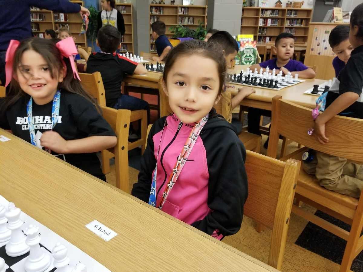 Larissa Gaytan ~ 1st Grade Chess Team Member