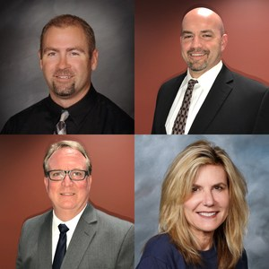 New Principals (clockwise): Jason d'Autremont, Steve Ford, John Turner, Shellie Holcombe,