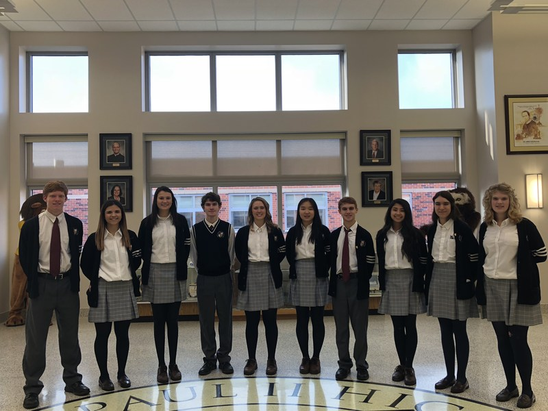 Congratulations to the Class of 2019 Diocesan Scholars! Thumbnail Image