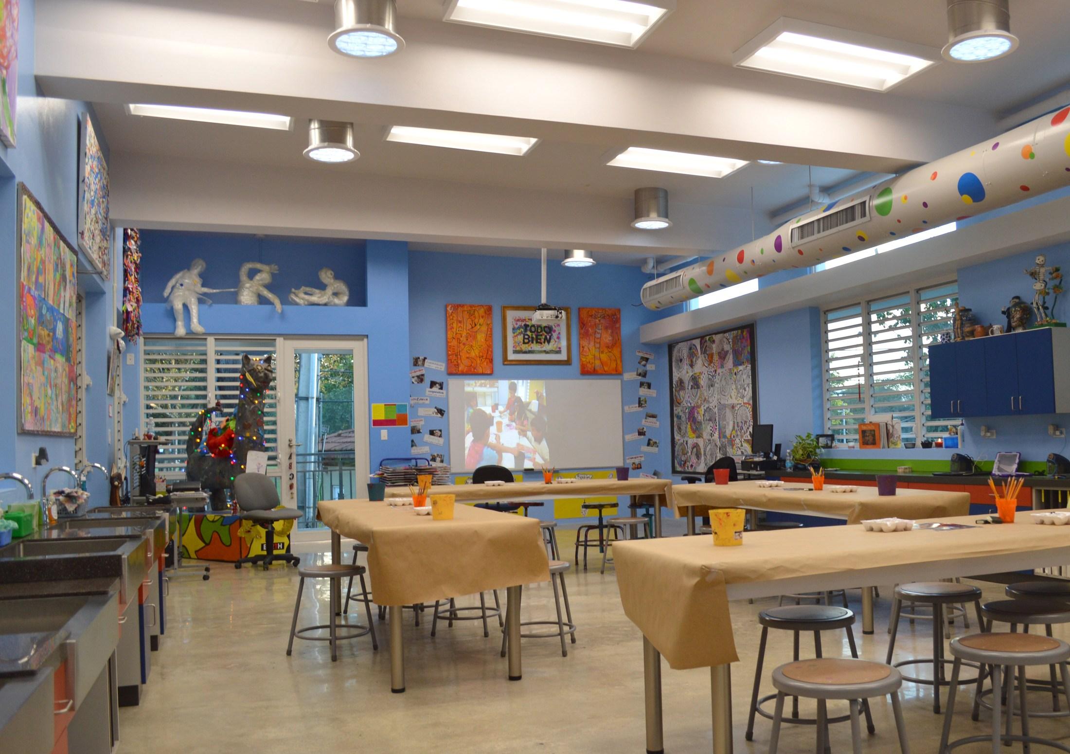 Baldwin Elementary Art Studio