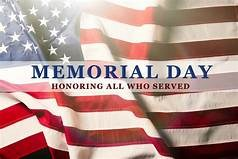 No School Monday 5/28. Memorial Day Holiday. Featured Photo