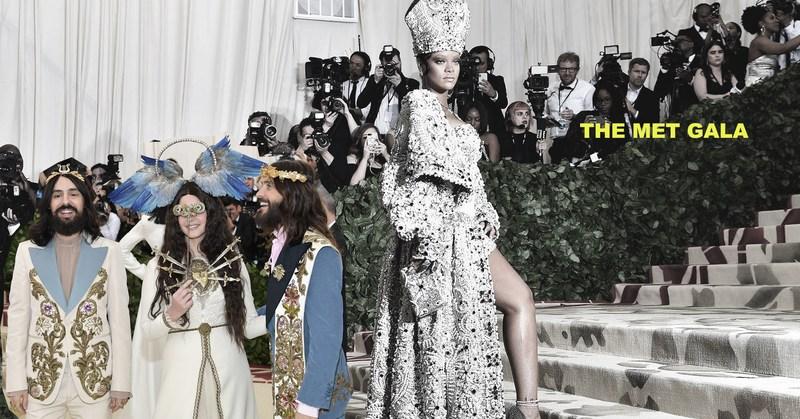 Celebridades, extravagancia y el imaginario catolicismo en la alfombra roja del MET 2018 Featured Photo