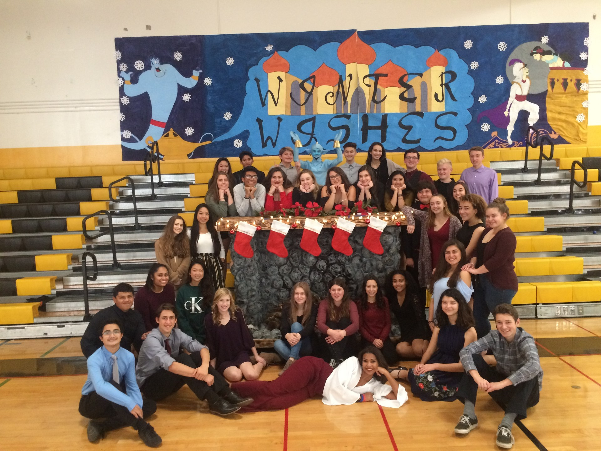 Image of Associated Student Body Government at 2017 Winter Wishes Event