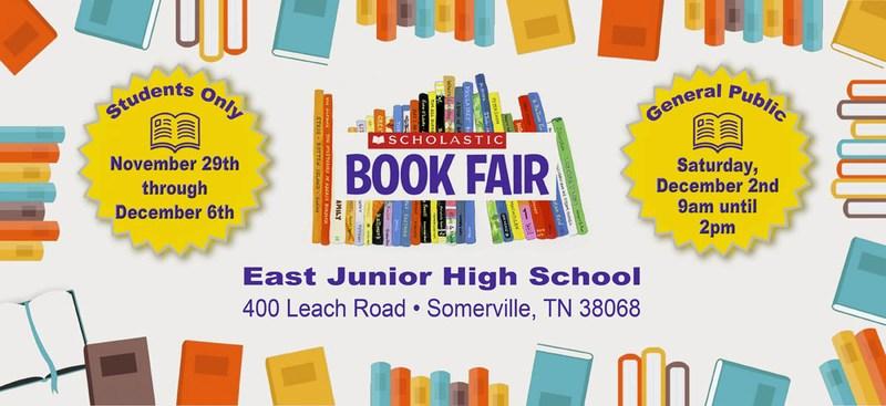 Scholastic Book Fair: 11/29-12/6 Thumbnail Image