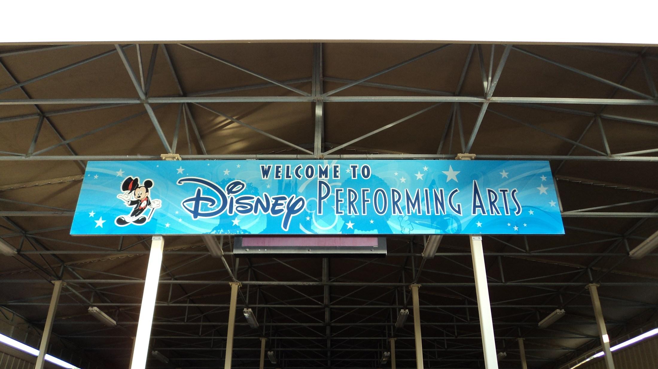 Performing at Disney World 2013