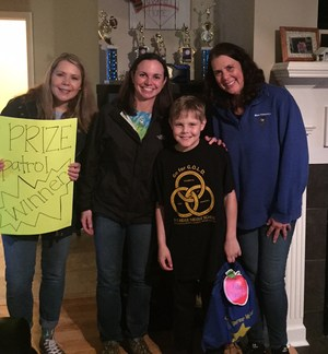 Prize Patrol surprises a Wood family