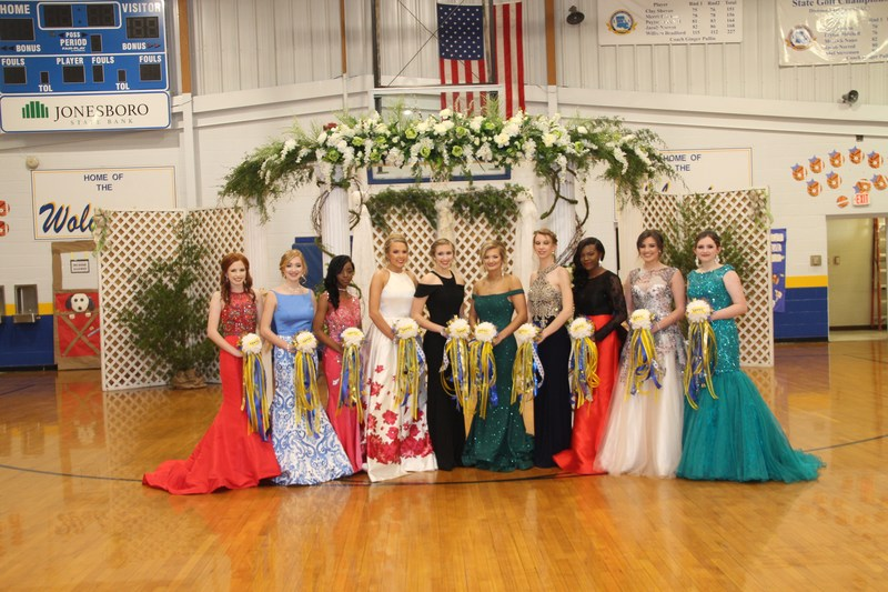 Homecoming Court and Homecoming Queen Thumbnail Image