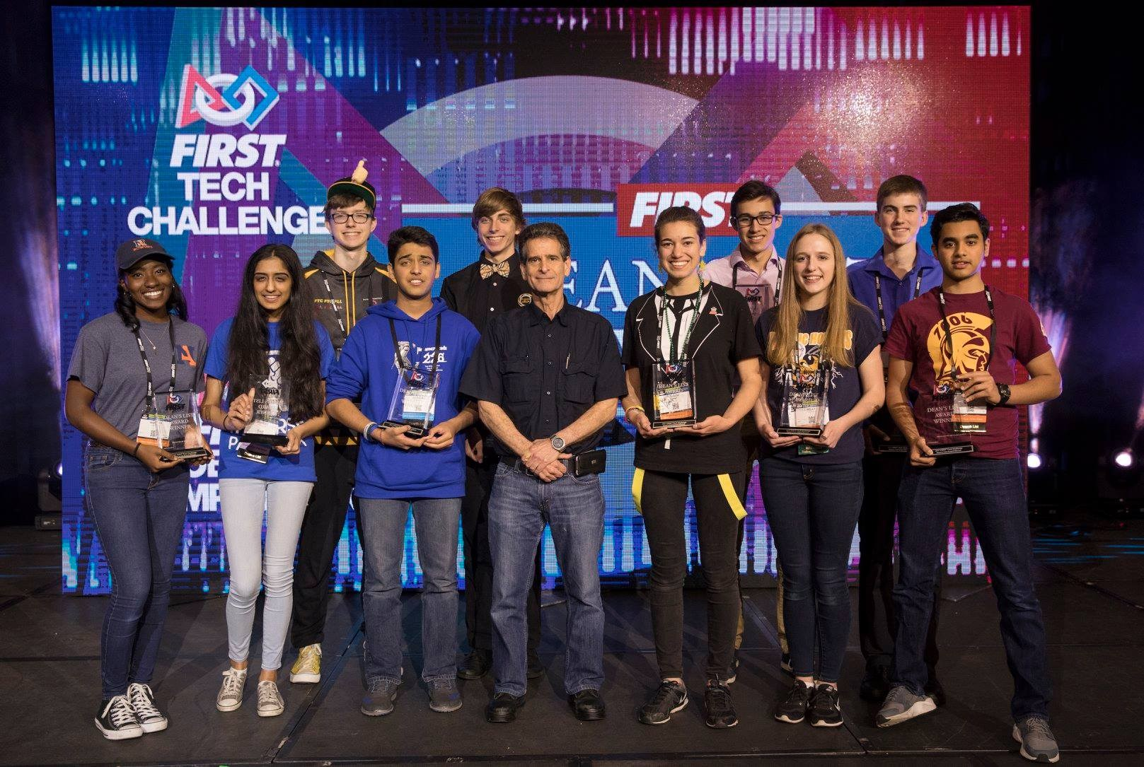 2017 First Robotics Deans list  winners