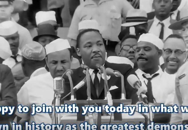 MLK Dream Speech