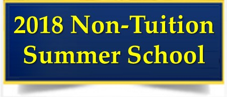 Non-Tuition Summer School 2018 Lottery is Now Available! Thumbnail Image