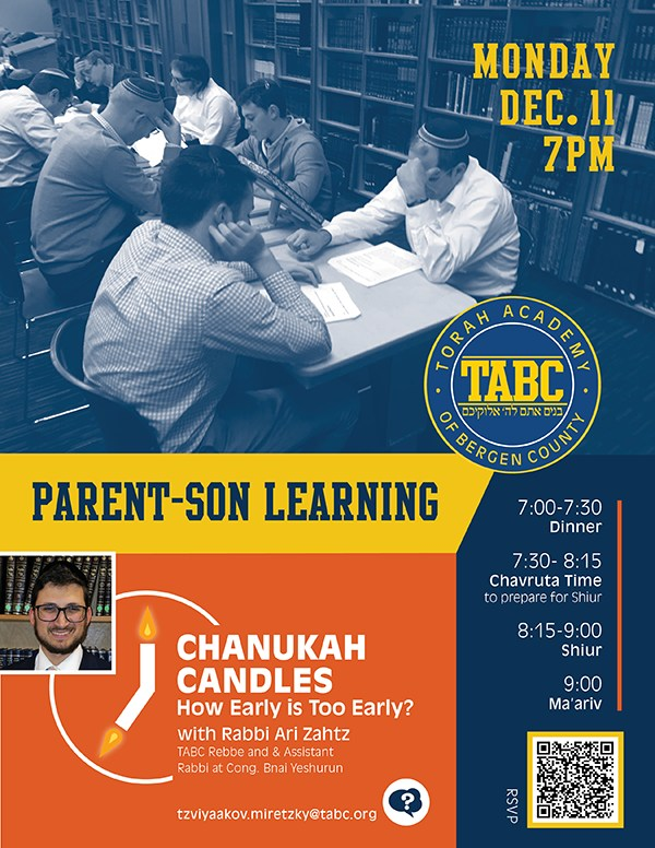 Please Join Us For A Night of Parent and Son Learning Thumbnail Image