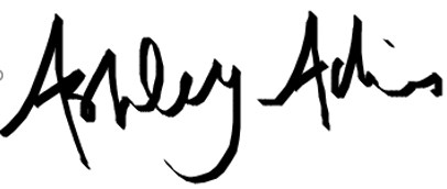 Signature of Ashley Adkins