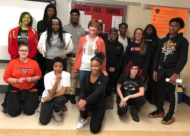 Mt. Healthy Jr/Sr High School Hosts Award Winning Author Featured Photo