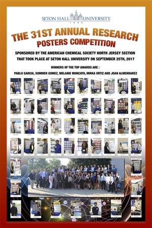 Science Poster Competition Winners