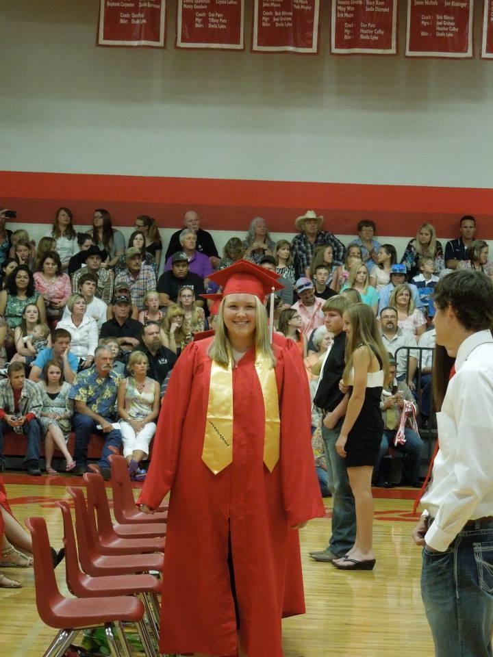 Ms. Cockrill High School graduation