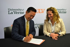 Baldwin Park Unified Superintendent Froilan N. Mendoza and University of La Verne President Devorah A. Lieberman signed the Partnership for Access to College Education agreement, which guarantees qualified students a pathway to the private university. This assistance includes financial aid of at least $10,000 per year, application fee waivers and programs to assist with the application process and college readiness.