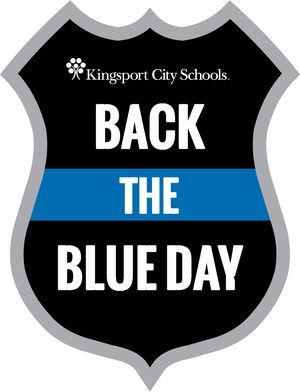 Back the Blue Day logo