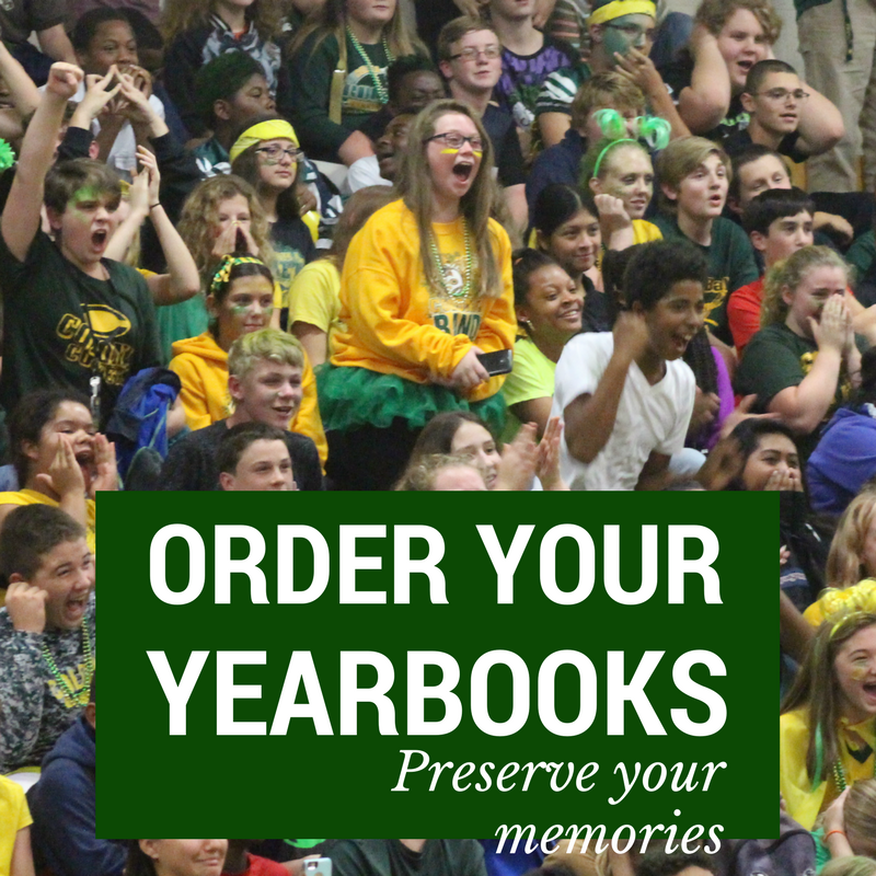 Order Your Yearbooks