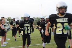 Wheat MS football players