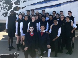 Brewer High School Indoor Percussion Takes Sixth Place at Championships