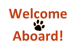 welcome aboard message