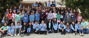 Group shot - spms/sphs students