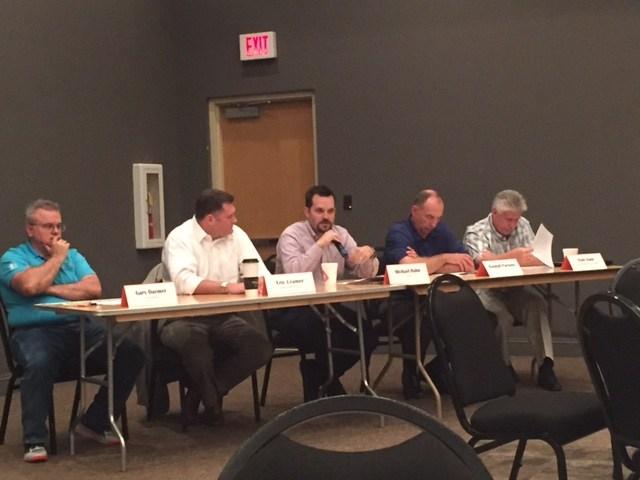 Panelists at BIEF Meeting