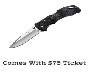 This knife comes with a $75 ticket