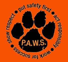 P.A.W.S. PBIS logo