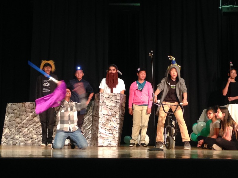 CCA 7th and 8th Grade Students Perform Shakespeare Thumbnail Image