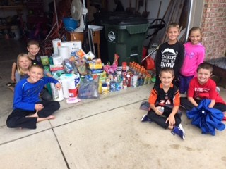 Whitewater Students Show Leadership and Compassion By Collecting for