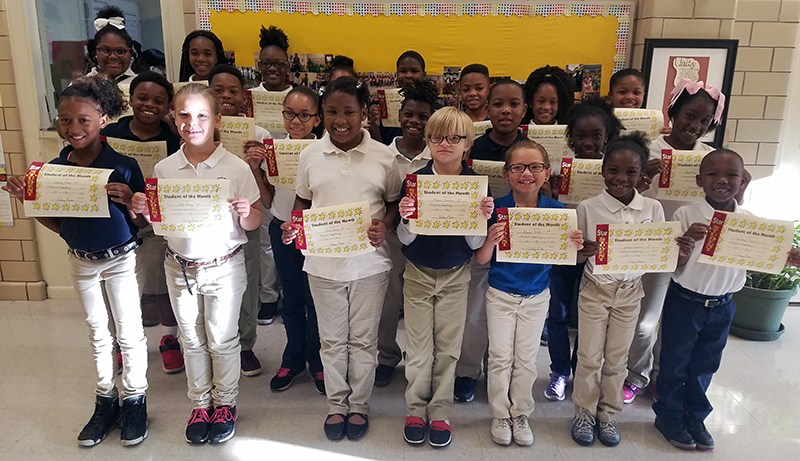 McLaurin Recognizes Students of the Month of November Thumbnail Image