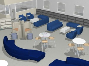 Exeter Unified redesigns EUHS library