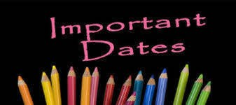 Important Calendar Dates for 2017/2018 School Year Featured Photo