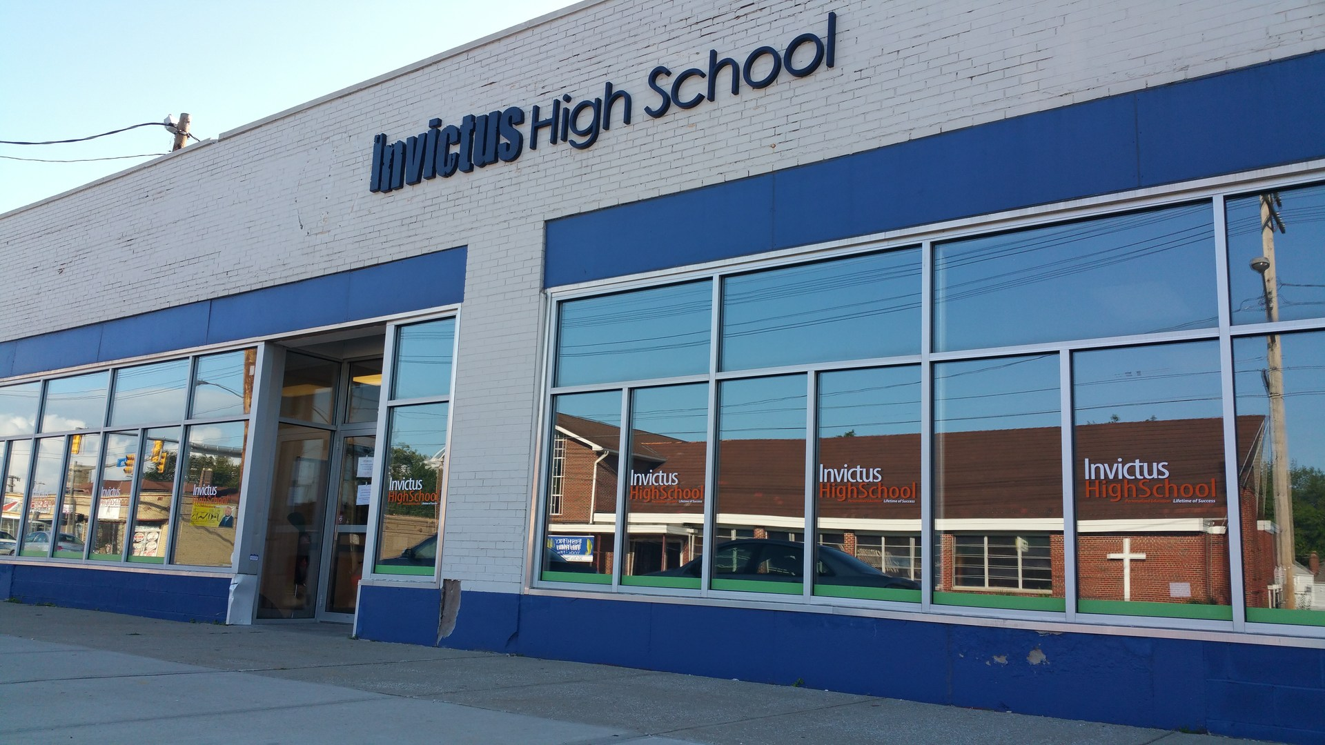 Invictus High School Cleveland East building Photo