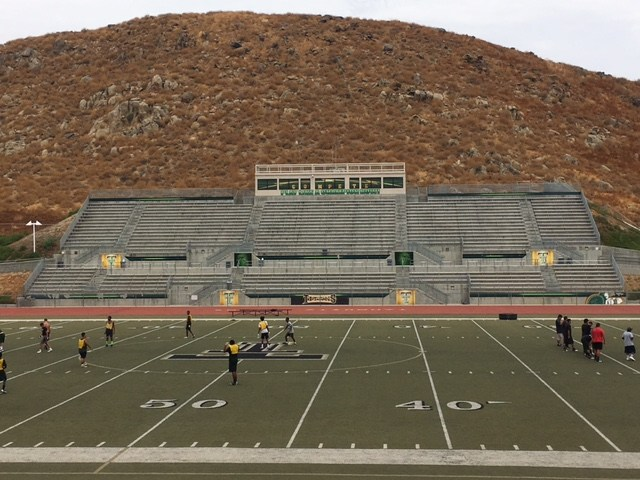 Tahquitz HS Stadium Graphics