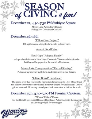 Season of Giving Flyer