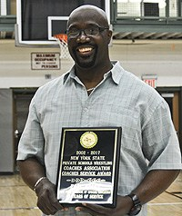 Earl Haley gets Service Award