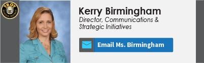 Kerry Birmingham Nameplate