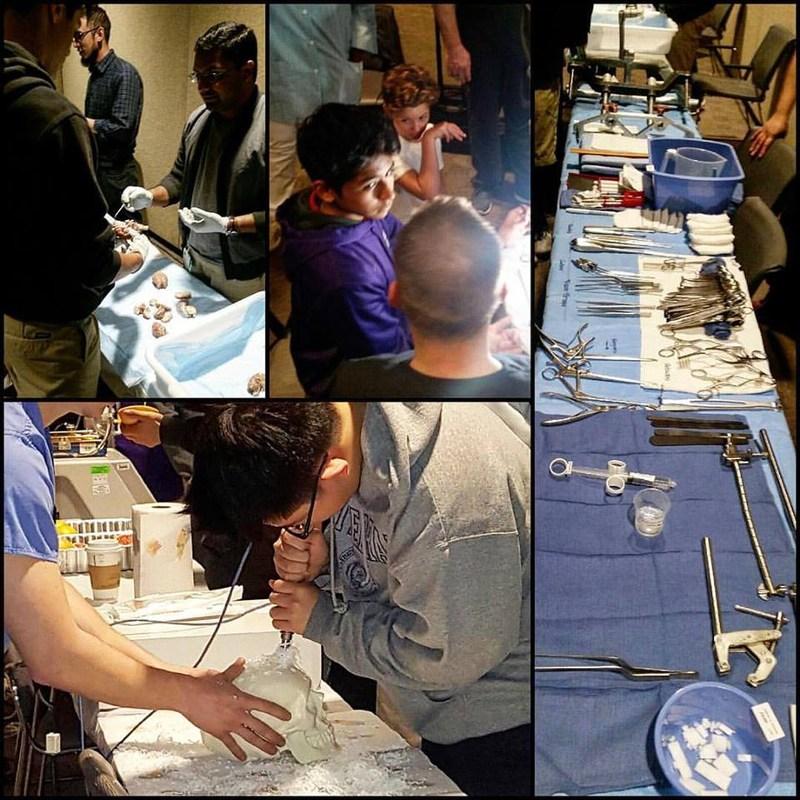 Math & Science Academy Freshmen Cohort visiting Cedar Sinai Hospital. Thumbnail Image