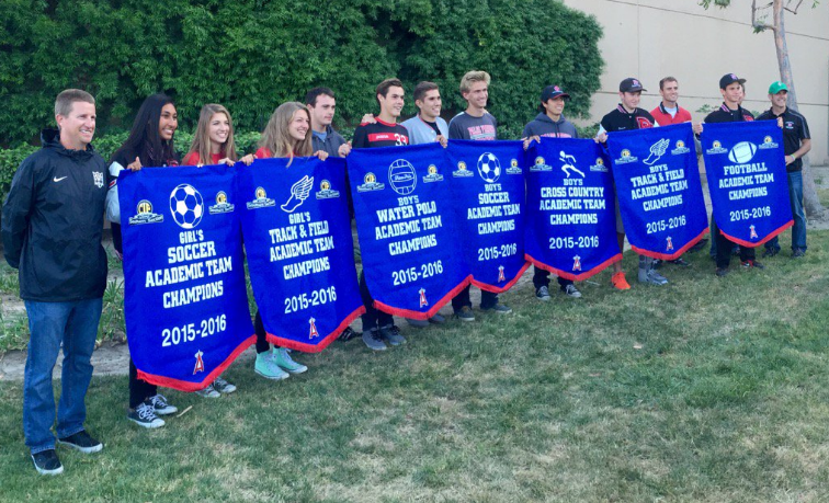 PVHS Athletic champions banners