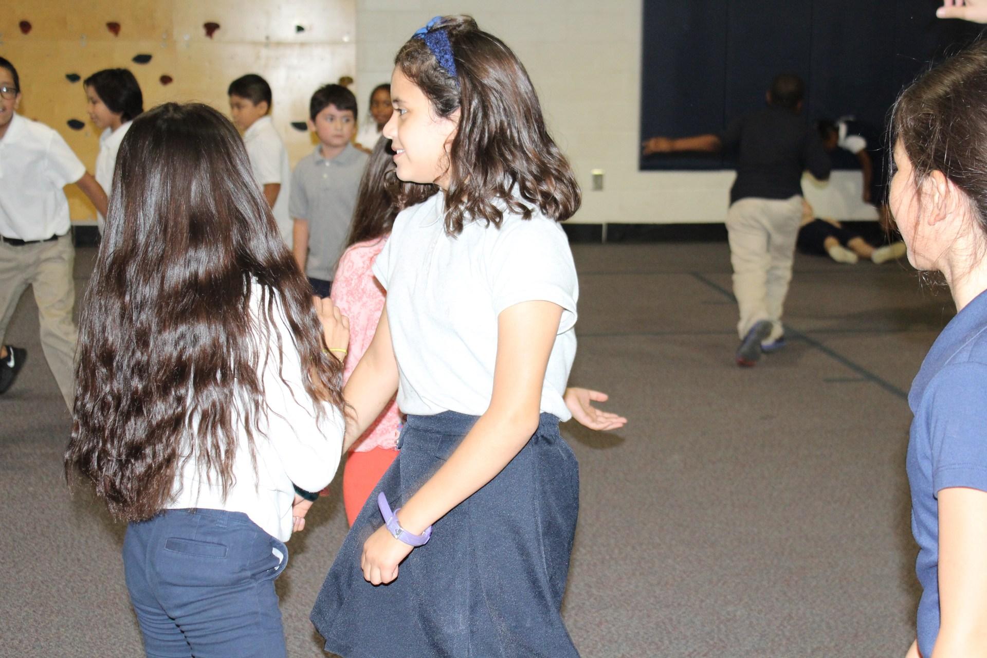 First Nine Weeks PBIS dance party fun