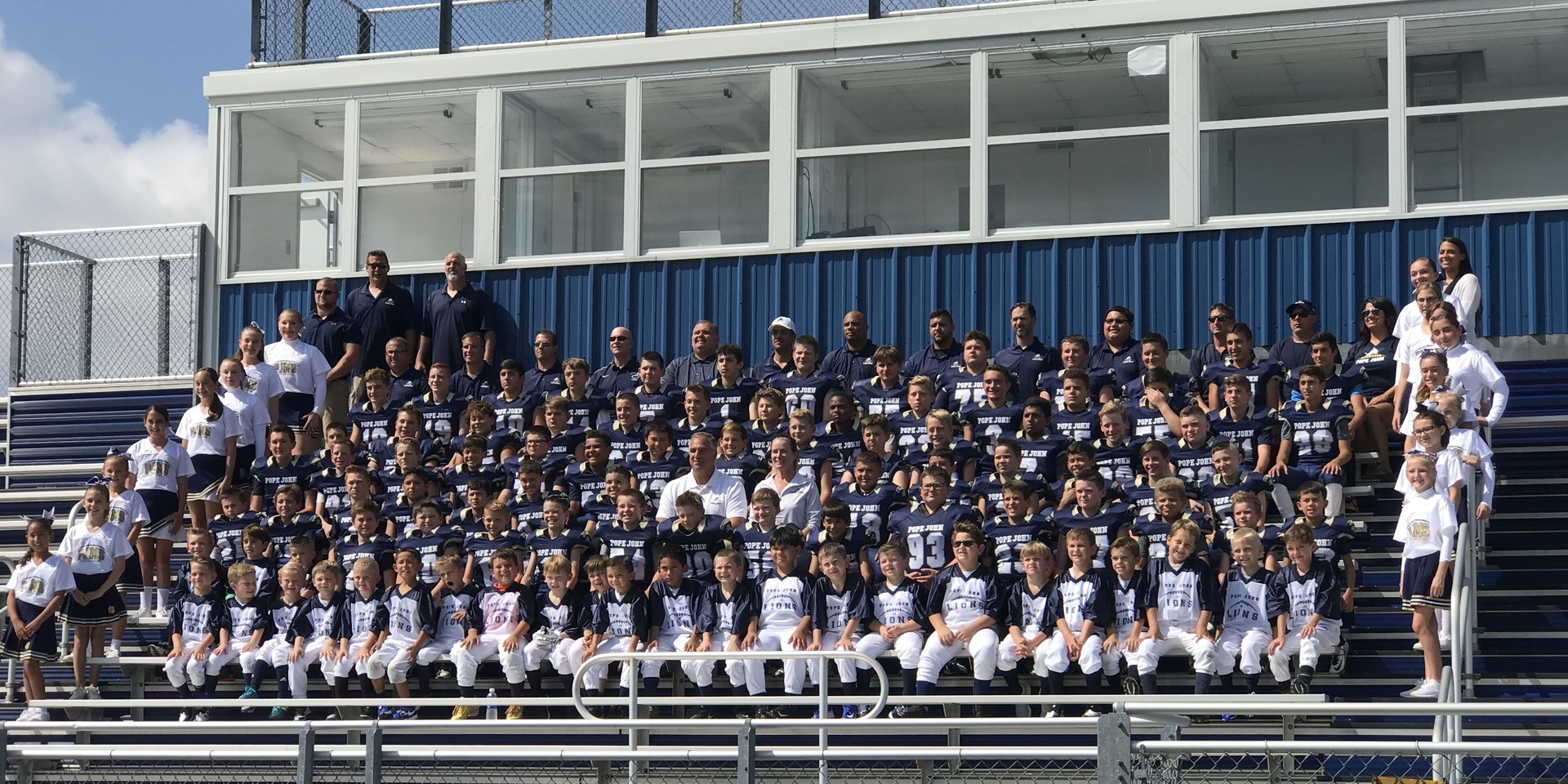 Jr Lions football team picture
