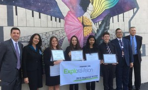 VAAS Exploravision 2nd Place Winners