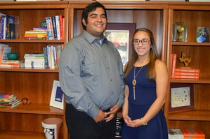 Students of the Month: Mark Trevino and Angel Rosas