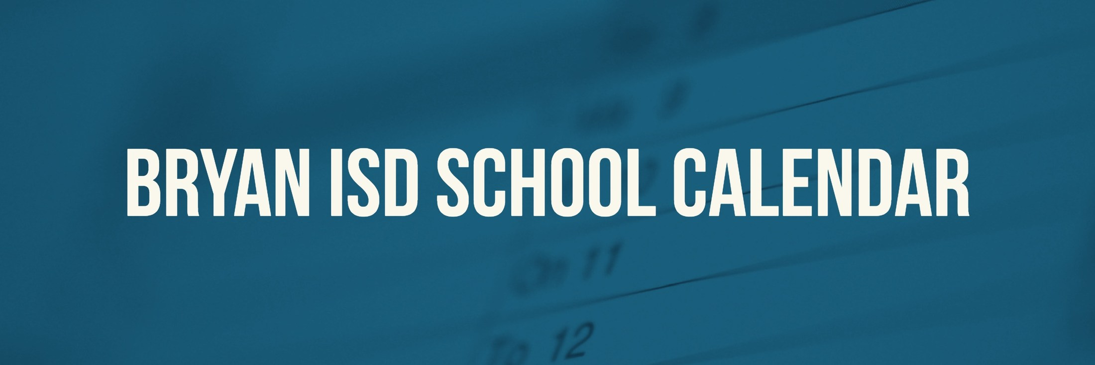 School Calendar Testing Fine Arts Athletics Events