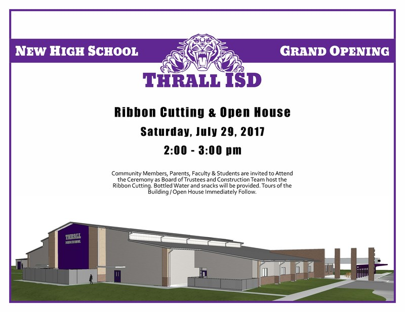 New HS Ribbon Cutting Ceremony Soon! Thumbnail Image