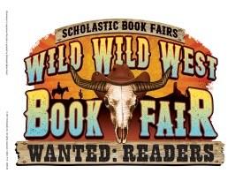 Wild west book fair image